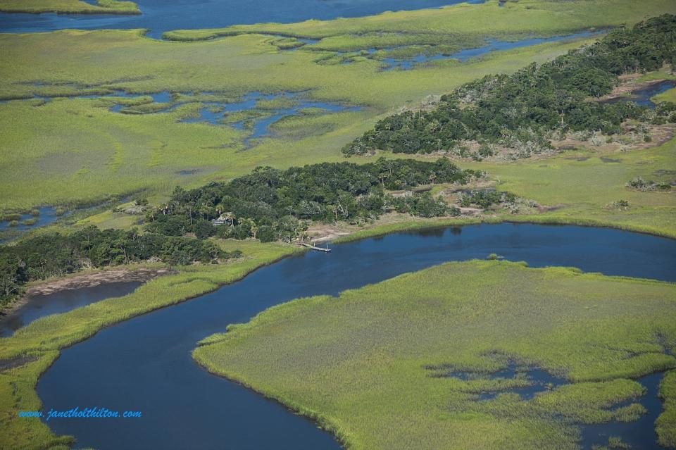 Hidden Marsh Getaway